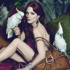 Julianne Moore's Bulgari Campaign : InStyle.com What's Right Now