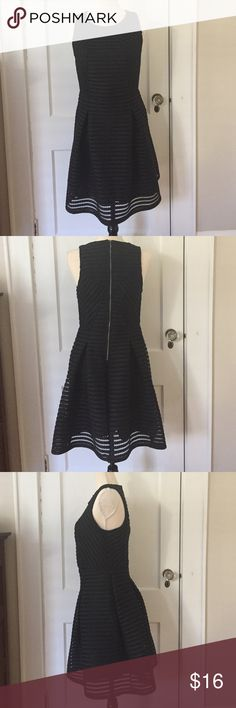 NWOT Little Black Dress • Brand new without tags • Never worn or washed • I bought 2 of the same dress, M & L, but changed my mind the last minute so didn't wear either of them • Fit & Flare • Zipper in the back • 100% Polyester • Machine wash cold 🚫Trade ✅ Bundle to save 💖 Mossimo Supply Co. Dresses Midi
