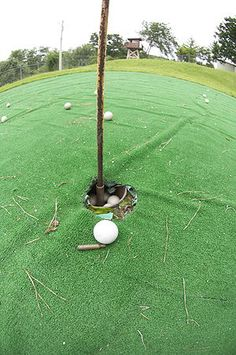 And you know the one thing United Nations people like and that GOLF dad gummit! So they built a 1 hole par 3 golf course….Surrounded by Land Mines and Gun Turrets!! BOOM Overkill? maybe,but I wouldn't want to get shot in my back swing that's for sure.