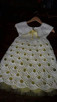 Does anyone know where to find this pattern? [] # # #Crochet #Baby #Dresses, # #Daisy, # #God, # #Goals, # #Crochet, # #Tissue