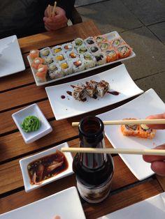 Sushi @ kokusai met Marco