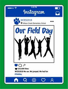FD0718 - Field Day Instagram Design Fields, Field Day, Elementary Schools, Make It Simple, Shirt Designs, Fun, T Shirt, Instagram, Supreme T Shirt