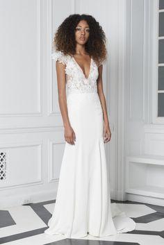 Bliss by Monique Lhuillier- BL18217 Wedding Dresses 2018, Wedding Suits, Designer Wedding Dresses, Bridal Dresses, Monique Lhuillier Bridal, Trumpet Gown, Beautiful Wedding Gowns, Beautiful Bride, Beautiful Dresses