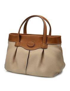 Sac Shopping En Cuir Petit Modèle, Sacs, Soldes, Shop Femme. Tods