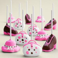 Mother's Day Pink Cake Pops