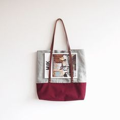 MIKANU Colorblocked Linenbag