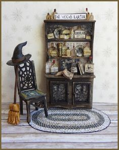 Halloween Shadow Box, Halloween Fairy, Halloween Village, Halloween News, Halloween House, Bear Halloween, Halloween Crafts, Miniature Crafts, Miniature Houses