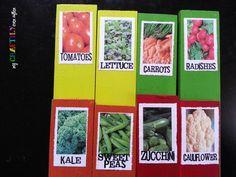 Garden Plant Labels for Mod Podge