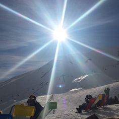 #sun #ski  #neige #pause #potes  #cool #cauterets by maelys_pacaud