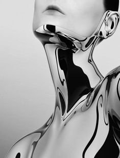 Chrome Avant Garde, Cyberpunk, Color Plata, Fashion Photography, Art Photography, Silver Lining, Future Fashion, Fashion Design, Space Fashion