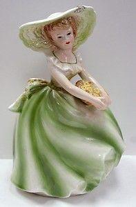 1964 Lady Ceramic Planter