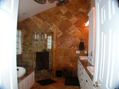 Full wall tile by the Home Improvement Source