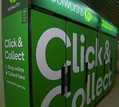 Woolworths Trials Commuter Click and Collect Click & Collect, Trials, Collection