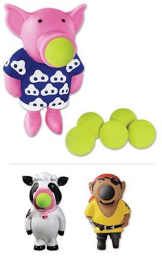 Pig Popper, Foam Ball Pig Toy, Hog Wild Pig Popper | Solutions