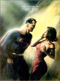 Lois meets Superman by Alex Ross