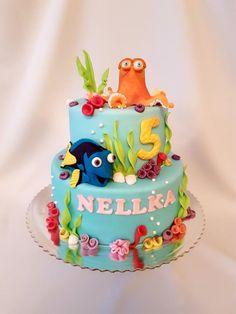 Finding Dory cake - Cake by Katka