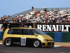 Alain Prost Essai Renault Espace F1