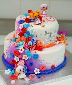 Lalaloopsy cake for Lara