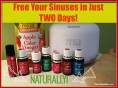 Free Your Sinuses - Bye Bye Pressure!! TheConfidentMom.com