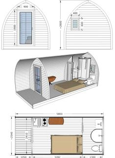 Don't throw yellowed curtains! Instantly … – Home Decoration Cheap Tiny House, Modern Tiny House, Tiny House Cabin, Small House Design, Tiny House Living, Cabin Homes, A Frame House Plans, Small House Plans, Casa Bunker