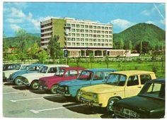 Hotel Carpaţi, Baia Mare Fiat 850, Limousine, Googie, Vw Beetles, Geography, Tourism, France, Architecture, Retro