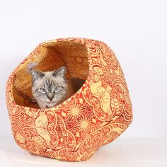 Sun Cat Ball http://www.thecatball.com/products/sun-cat-the-cat-ball-design-in-whmsical-orange-and-yellow-kitties