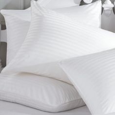 Cheer Collection 300 Thread Count Striped Down Alternative Pillow