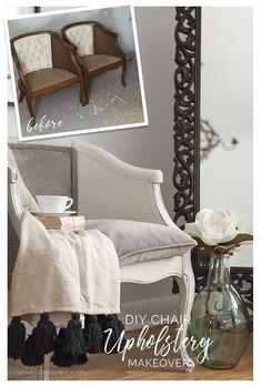 DIY Chair Upholstery ~ 7 Shortcuts U0026 Tips