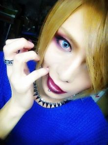 Kouki's awesome Halloween look ^-^ #visualkei #D=Out #dauto #kouki