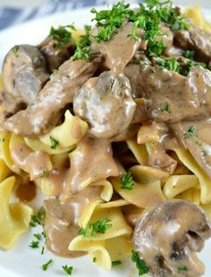 Creamy Beef Stroganoff - Gonna Want Seconds