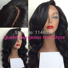 side part full lace wig/Lace Front Wig glueless brazilain Virgin Human Hair wigs Natural hairline with baby hair for black women