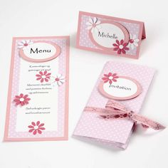 Diy Paper, Paper Crafts, Baptism Decorations, Menu, Diy Invitations, Holidays And Events, Painted Rocks, Cardmaking, Diy And Crafts