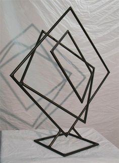 Metal Art Sculptures | Modern Metal Art Sculpture G3 Bronze