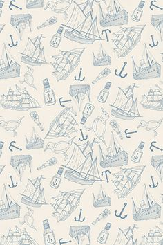 nautical pattern by Matt Glasby