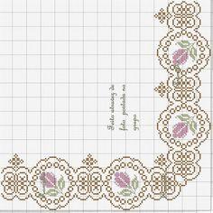 Gallery.ru / Фото #9 - oktobriow 2015 - ergoxeiro Stitch 2, Rococo, Cross Stitch Patterns, Diagram, Embroidery, Crochet, Jewellery, Table, Cross Stitch Font