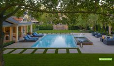 145 Most Beautiful Backyard Landscaping Ideas Creative Landscape Ideas. Amazing ideas for your new backyard 2019 latest ideas. Backyard Pool Landscaping, Swimming Pools Backyard, Swimming Pool Designs, Pool Spa, Landscaping Ideas, Pool Landscape Design, Creative Landscape, Sport Pool, Rectangle Pool