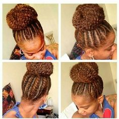 Awesome Flat Twist Kids Natural Hair And High Bun On Pinterest Hairstyle Inspiration Daily Dogsangcom