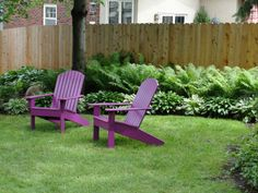adirondack chairs | one half world: Colorful adirondack chairs