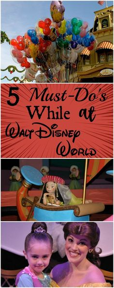 5 Things You and Your Family Must Do While at Walt Disney World