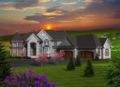 House Plan chp-55070 at COOLhouseplans.com