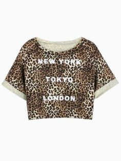 Search For Crop tops Leopard Print Party, Shirt Shop, Latest Trends, T Shirts For Women, Crop Tops, Womens Fashion, Casual, Swimwear, How To Wear