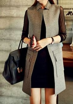 Coat Casual Work Outfits, Girly Outfits, Work Casual, New Outfits, Chic Outfits, Work Fashion, Hijab Fashion, Fashion Outfits, New Hijab Style