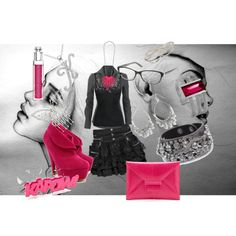 """A Night Out"" by kcfash on Polyvore"