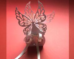 Bomboniera portaconfetti farfalle