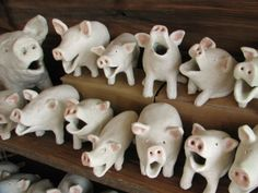 Pottery Animals, Ceramic Animals, Clay Animals, Paper Clay, Clay Art, Clay Projects, Clay Crafts, Ceramic Pottery, Ceramic Art