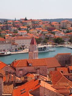 Cathedral Tower, Trogir, Croatia by ChihPing