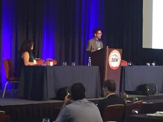 Dr. Brijesh Mehta @neuro_IR discussing how to optimize Door to Perfusion times at Stroke Center Workshop #SVIN2015