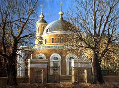 Качанов В.К. Церковь на Ордынке. Осень. 2016