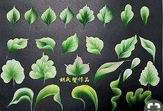One Stroke Painting, Acrylic Painting Techniques, Painting Lessons, Tole Painting, Fabric Painting, Painting & Drawing, Face Painting Tutorials, Painting Patterns, Folk Art Flowers