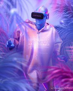 Get lost in a different dimmension! Experience curated virtual reality games an… – NYC Events Arte Alien, Virtual Reality Games, Augmented Reality, Design 3d, Futuristic Art, Cyberpunk Art, Cyberpunk Fashion, 3d Artwork, Wow Art